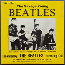 Load image into Gallery viewer, Beatles - The Savage Young Beatles