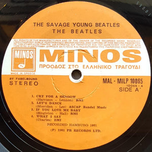 Beatles - The Savage Young Beatles