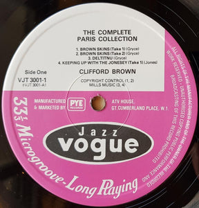 Brown, Clifford - The Complete Paris Collection