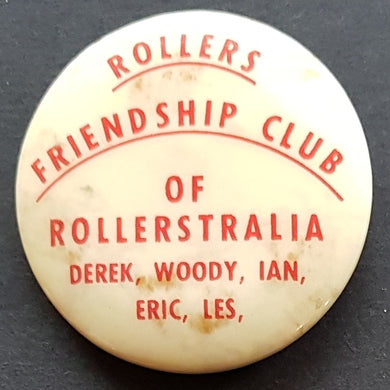 Bay City Rollers - Rollers Friendship Club