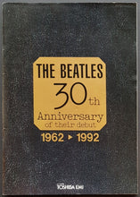 Load image into Gallery viewer, Beatles - 30th Anniversary Of Their Debut