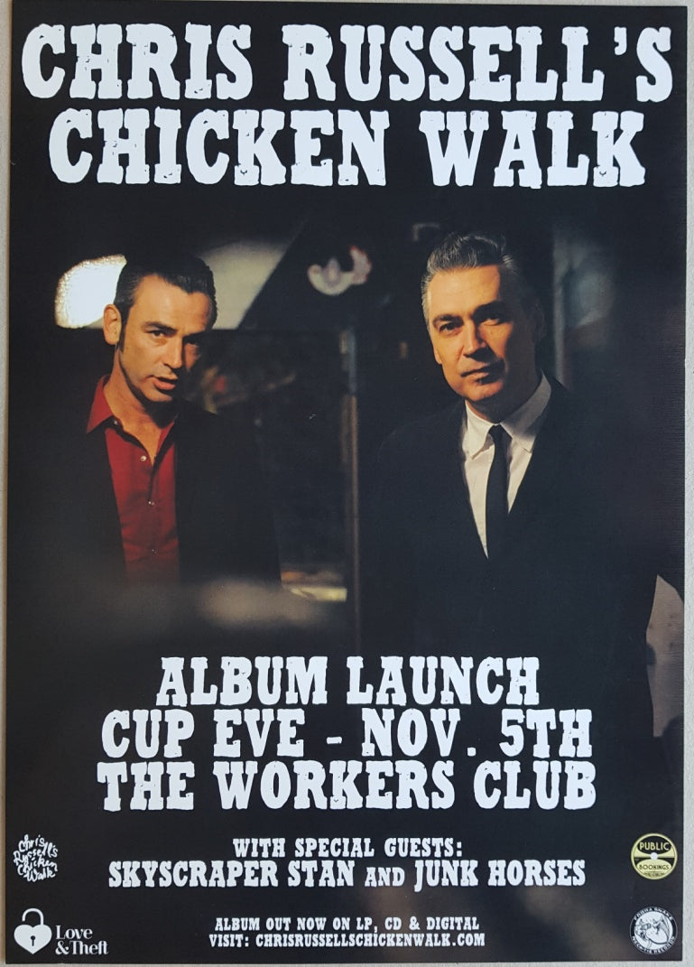 Chris Russell's Chicken Walk - Album Launch