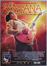 Load image into Gallery viewer, Santana - Guitar Heaven 2011