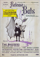 Load image into Gallery viewer, Television - Release The Bats 2013