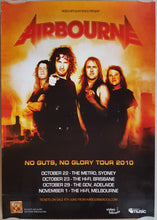 Load image into Gallery viewer, Airbourne - No Guts, No Glory Tour 2010