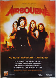 Airbourne - No Guts, No Glory Tour 2010