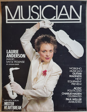 Anderson, Laurie - Musician