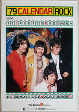 Load image into Gallery viewer, Beatles - '79 Calendar Rock