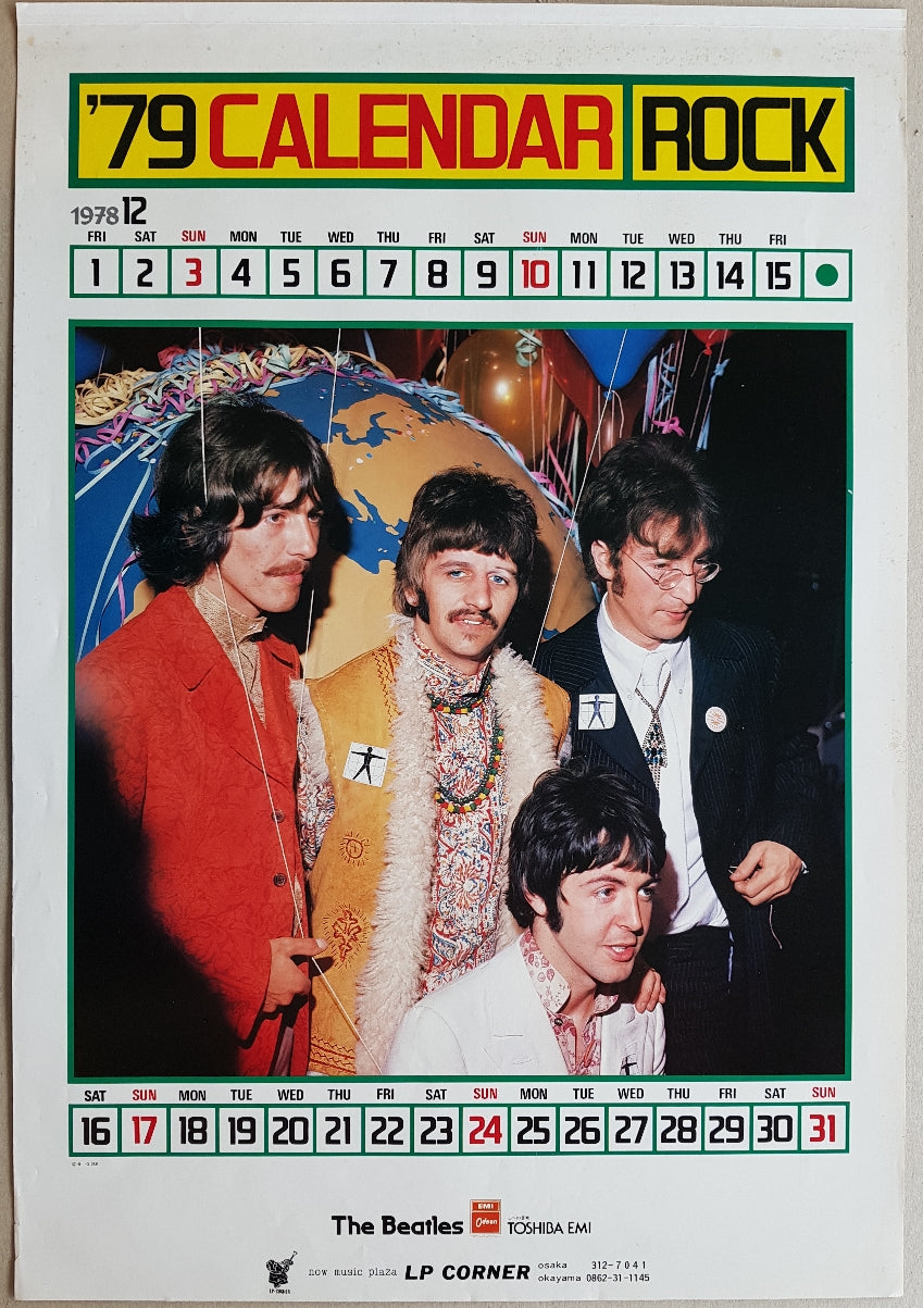 Beatles - '79 Calendar Rock