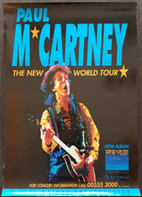 Load image into Gallery viewer, Beatles (Paul McCartney) - The New World Tour