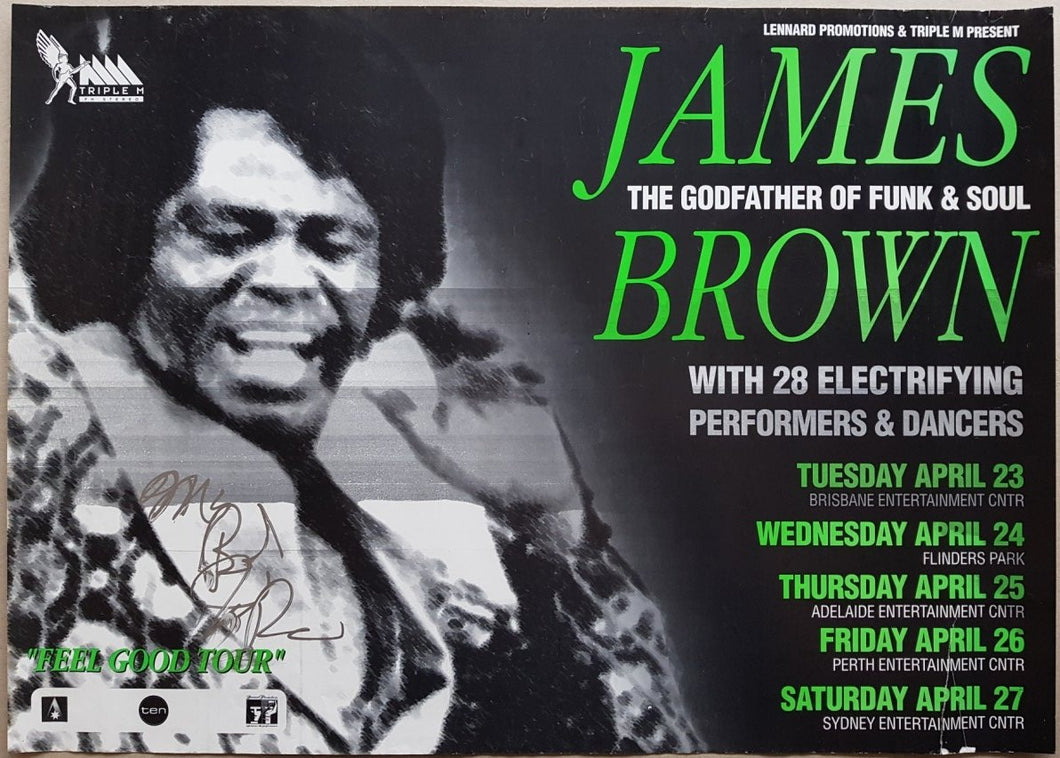 Brown, James - Feel Good Tour
