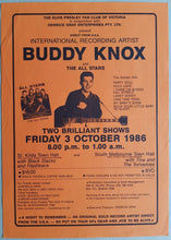 Load image into Gallery viewer, Buddy Knox - 1986