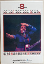 Load image into Gallery viewer, Bob Marley - '79 Calendar Rock