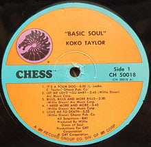 Load image into Gallery viewer, Taylor, Koko - Basic Soul