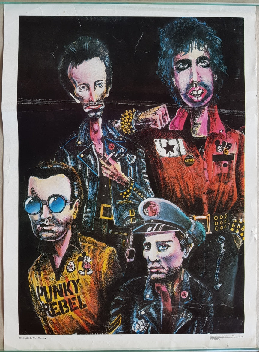 Clash - The Clash By Mark Manning