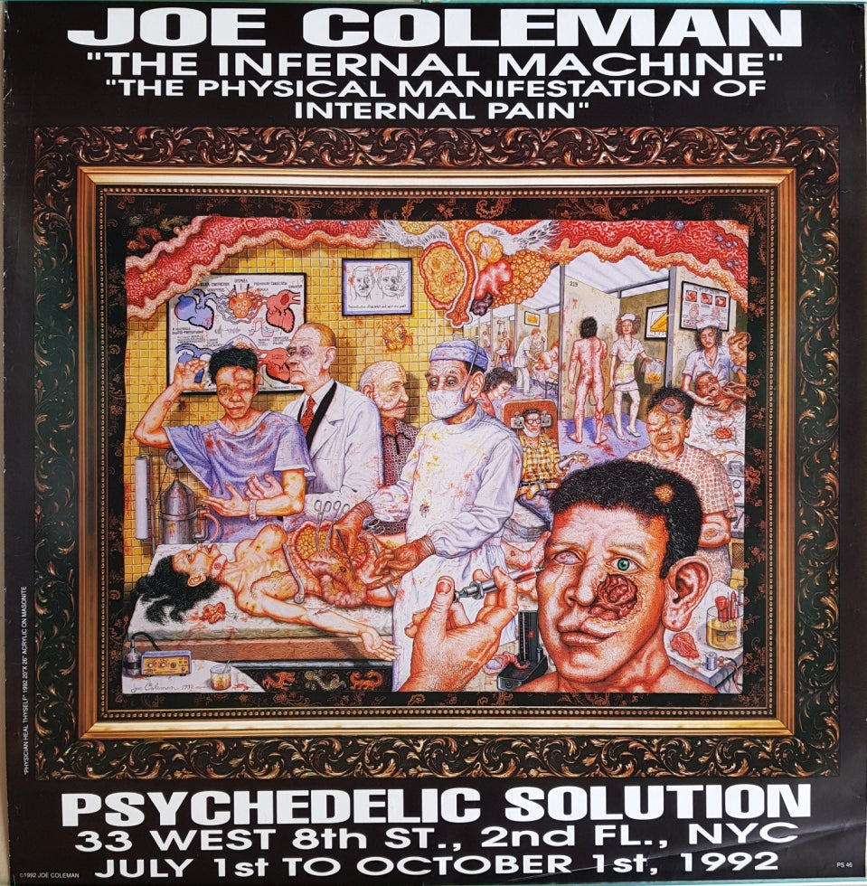 Coleman, Joe - The Infernal Machine / The Physical Manifestation