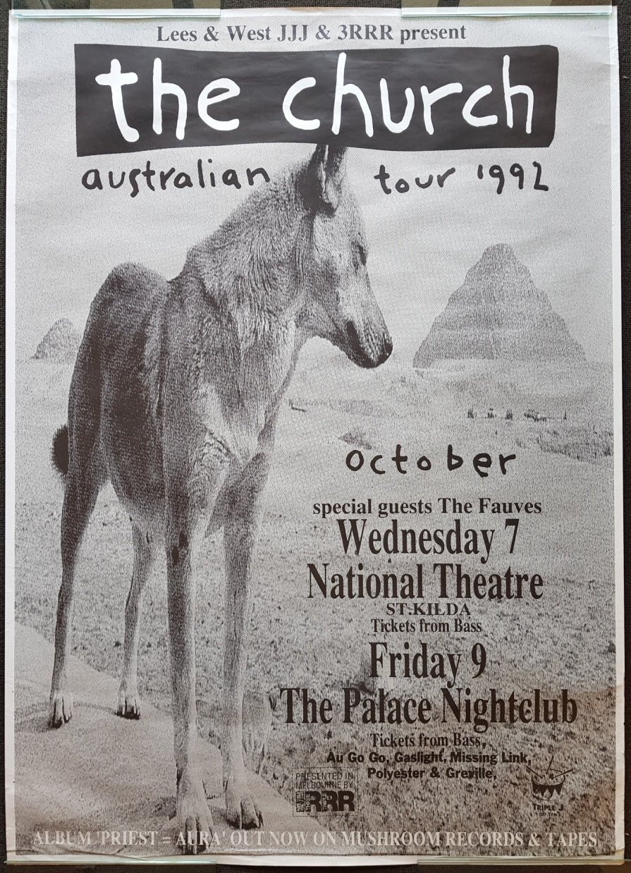 Church - Australian Tour 1992