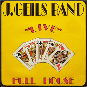 "J. Geils Band - ""Live"" Full House"
