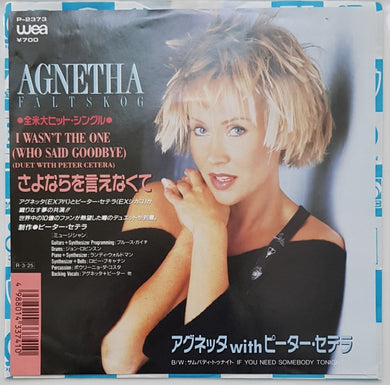 ABBA (Agnetha) - I Wasn't The One (Who Said Goodbye)
