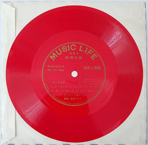 Beatles - Music Life Flexi Disc