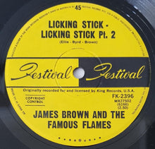 Load image into Gallery viewer, Brown, James - Licking Stick - Licking Stick Pt.1