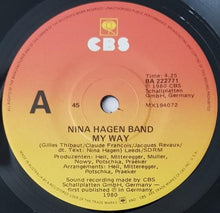 Load image into Gallery viewer, Nina Hagen - My Way