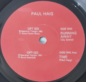 Paul Haig - Running Away