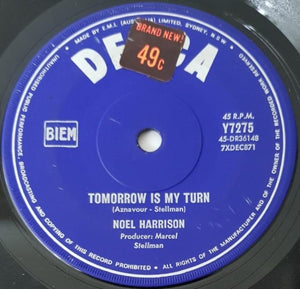 Harrison, Noel - A Young Girl Of Sixteen