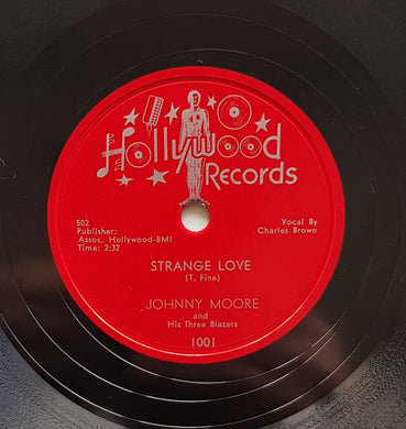Johnny Moore & His Three Blazers - Strange Love