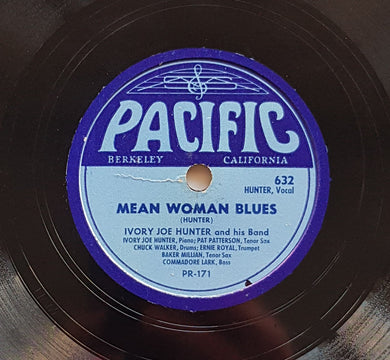 Ivory Joe Hunter - Mean Woman Blues