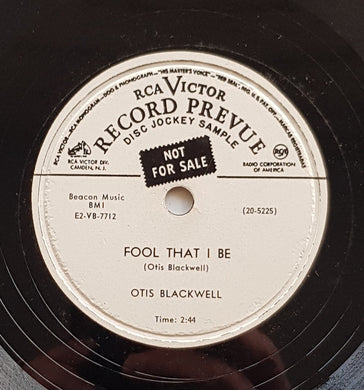 Blackwell, Otis - Fool That I Be