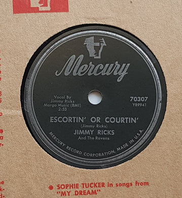 Jimmy Ricks - Escortin' Or Courtin'