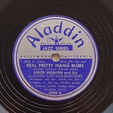 Amos Milburn - Real Pretty Mama Blues