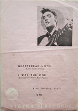 Load image into Gallery viewer, Elvis Presley - Heartbreak Hotel / I Was The One