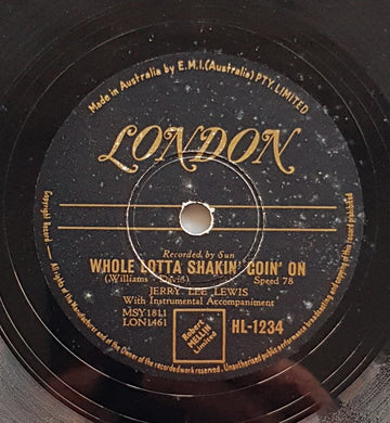 Lewis, Jerry Lee - Whole Lotta Shakin' Goin' On