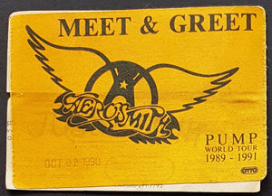 Aerosmith - Pump World Tour 1989 - 1991