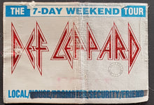 Load image into Gallery viewer, Def Leppard - The 7-Day Weekend Tour