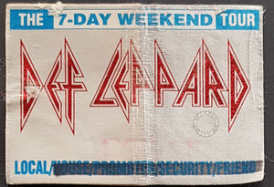 Def Leppard - The 7-Day Weekend Tour