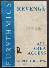 Load image into Gallery viewer, Eurythmics - Revenge World Tour 1986