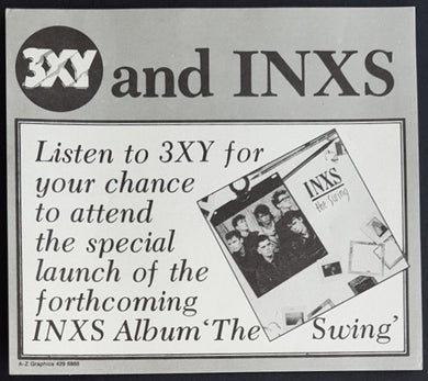 Inxs - 3XY Music Survey Chart