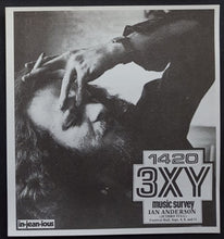 Load image into Gallery viewer, Jethro Tull - 3XY Music Survey Chart