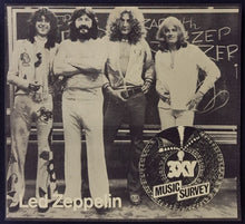 Load image into Gallery viewer, Led Zeppelin - 3XY Music Survey Chart