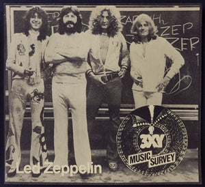 Led Zeppelin - 3XY Music Survey Chart