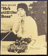 Load image into Gallery viewer, Rolling Stones (Mick Jagger) - 3XY Music Survey Chart