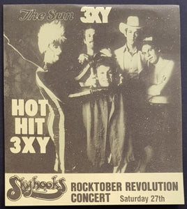 Skyhooks - 3XY Music Survey Chart
