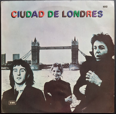 Beatles (Wings) - Ciudad De Londres (London Town)