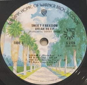 Uriah Heep - Sweet Freedon