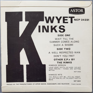 Kinks - Kwyet Kinks