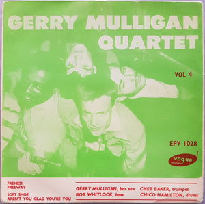 Gerry Mulligan - Gerry Mulligan Quartet Vol.4