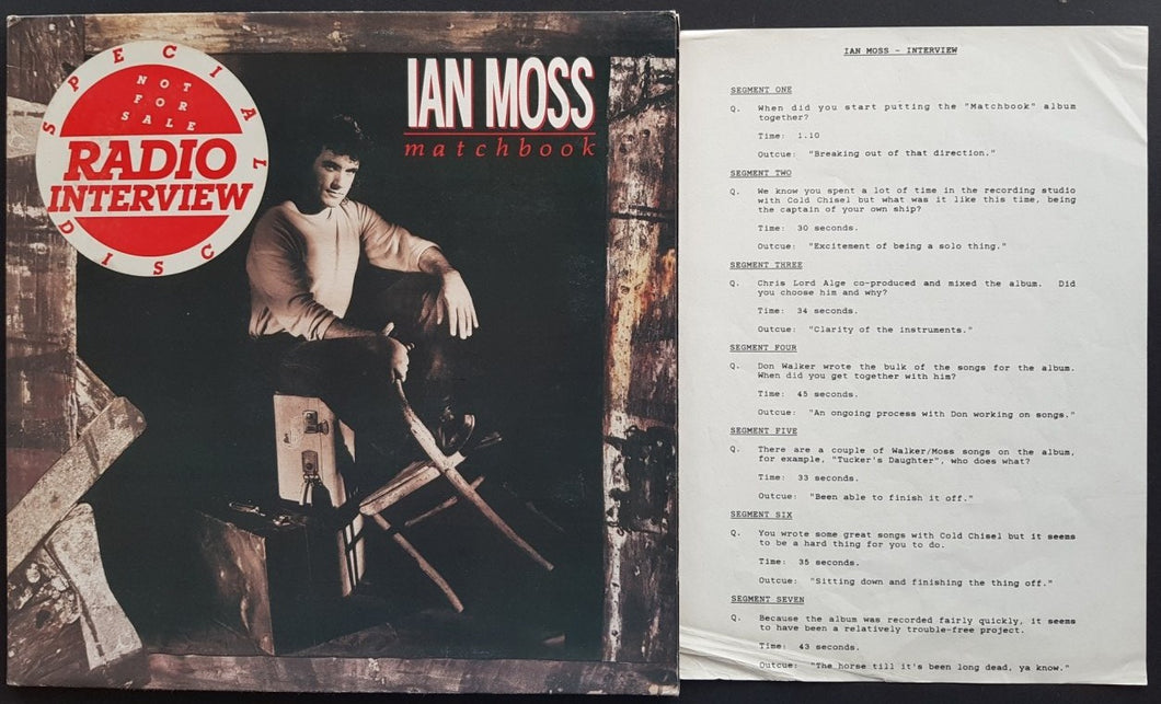 Cold Chisel (Ian Moss) - Matchbook